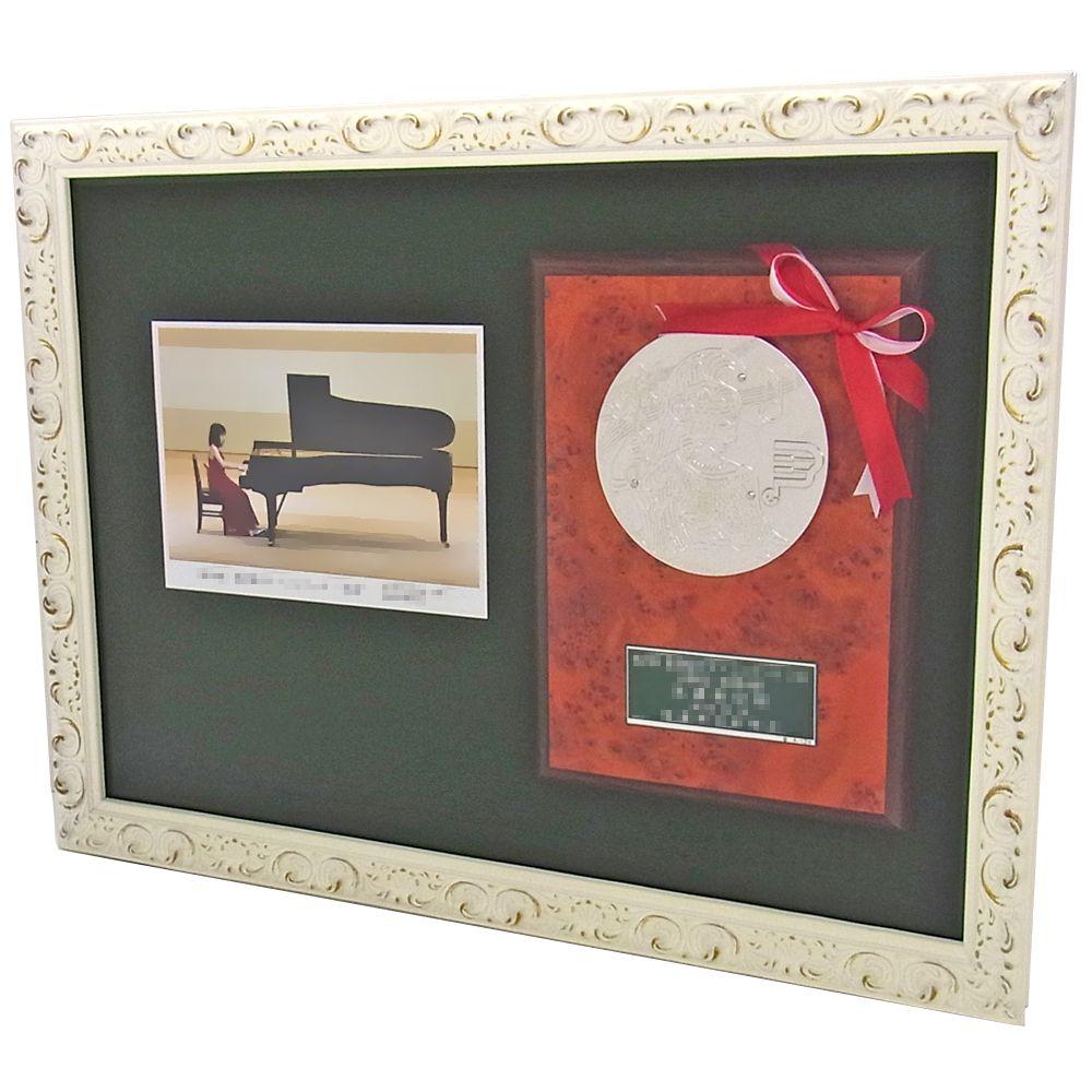 ピアノ発表会 盾と写真 | ピアノ...
